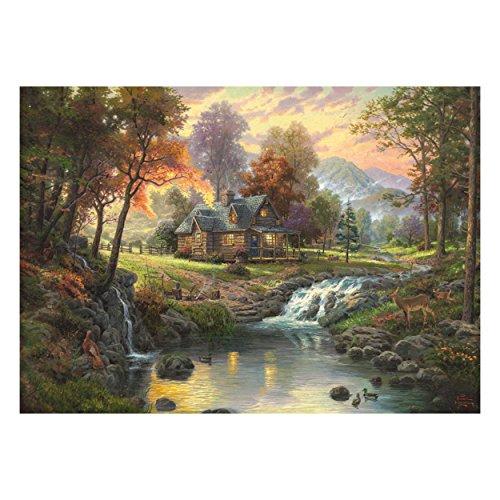 Schmidt Spiele Mountain Retreat - Rompecabezas (Tradicional, Paisaje, Cualquier género, 373 x 272 x 57 mm)