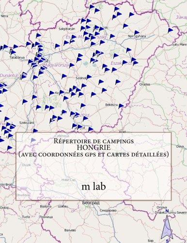 Répertoire de campings  HONGRIE (avec coordonnées gps et cartes détaillées)