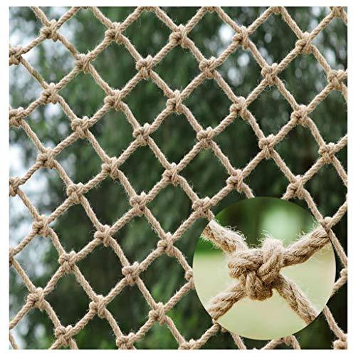 Hanf-Seilnetz, Kindersicherheitsnetz Treppenschutznetz Foto-Wanddekorationsnetz Schutznetz Für Balkontrennwände Fenster Balkon Szenischer Zaun Retro Bar Decke Fotografie Draussen Innen