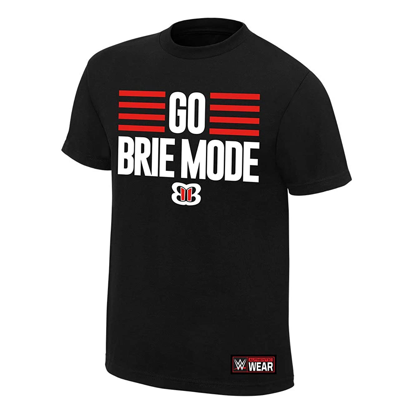 Brie Bella Go Brie Mode Youth T-Shirt Black Small