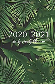 2020-2021 Daily Weekly Planner: Tropical Leaves Cover, Jan 1, 2020 to Dec 31 2021 Daily Weekly Monthly Academic Schedule Logbook Agenda Planner For ... Planner, January 2020 to December 2021)