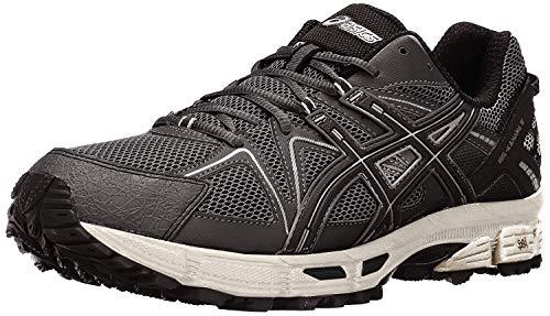 ASICS Men's Gel-Kahana 8 Trail Runner, Black/Onyx/Silver, 10.5 M US
