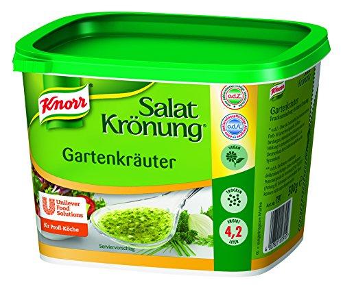 Knorr - Salatkrönung Gartenkräuter Vinagreta de Hierbas de Jardín 500g