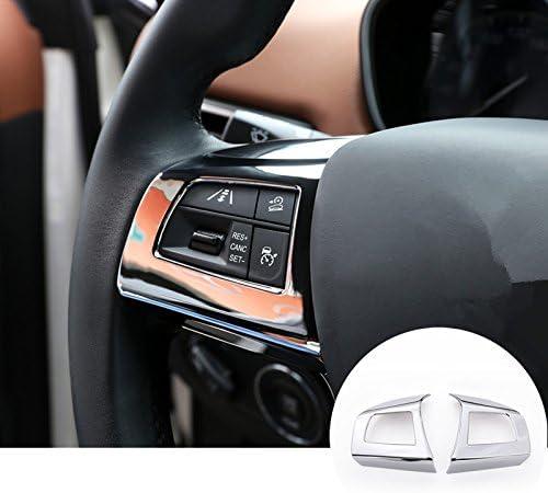 HOTRIMWORLD Interior Max 69% OFF Steering Wheel Button Trim cheap 2pcs Frame Cover