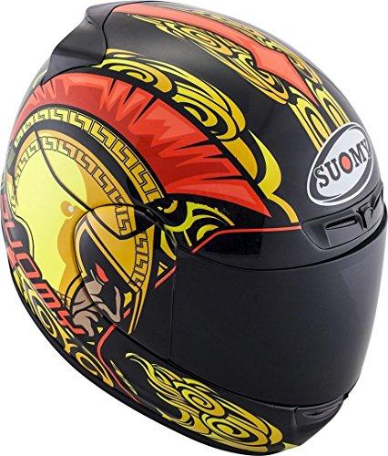 Suomy ksap0025.5Casco Moto, multicolor, L