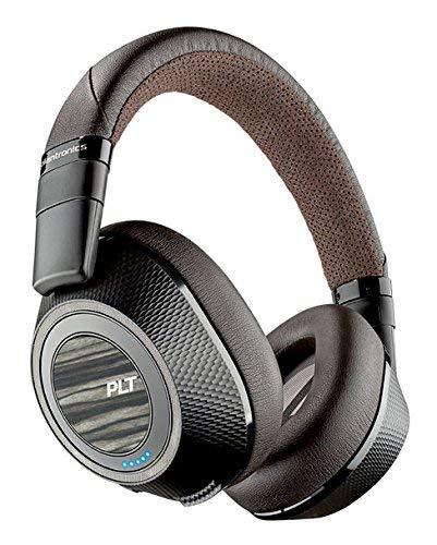 Plantronics Wireless Noise Cancelling Backbeat, Headphones, Black and Tan, Pro 2 (Renewed)