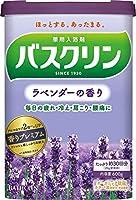 【5個セット】バスクリン ラベンダーの香り 600g