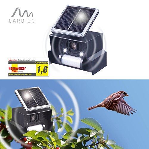 Gardigo Solar Vogelabwehr, Vogelscheuche, Vogelschreck
