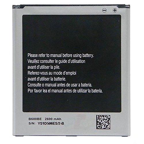 Batería genérica de Alta Capacidad 2600 mAh Compatible con Samsung Galaxy S4 i9500