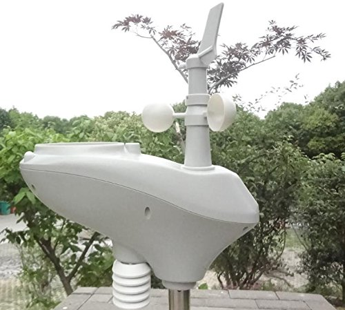 MISOL Weather Station with RS485 Port, 4 Wires Cable, with Cable Length (10 Meter)/Estación meteorológica con Puerto RS485, Cable de 4 Hilos, con Longitud de Cable (10 Metros)