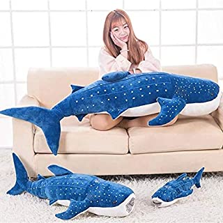 PUNIDAMAN Whale Plush Toy Lovely Dolphins Children's Toy Pillow Gift for Girlfriend Children Toddler Must Haves Gift Sets Boys Favourite Characters Superhero Party Decorations UNbox Game