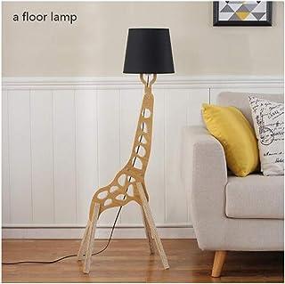 Lampe sur Pied Lampadaires Journaux moderne Minimaliste Lampe de table Salon Creative Lampadaire Hôtel Chambre en bois mas...