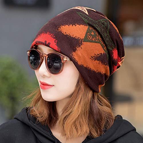 Xme Female winter cute warm hat, multi-function British collar, fashion pullover cap