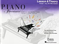 Piano Adventures All-in-Two Primer Lesson/Theory: Lesson & Theory - Anglicised Edition (Faber Piano Adventures)