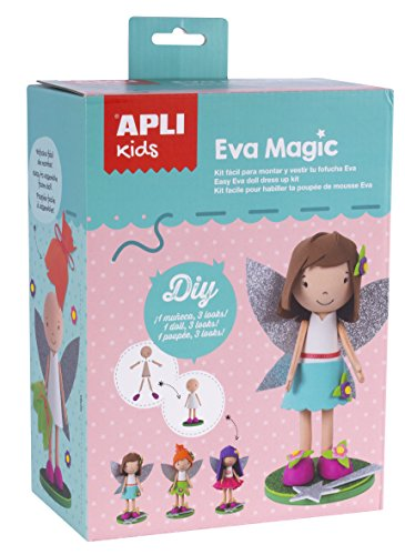APLI Paper Ref. 14821 Muñeca Goma EVA Magic