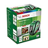 Bosch UniversalLevel 2 Set de nivel láser autonivelante con 3 baterías AA, en estuche blando