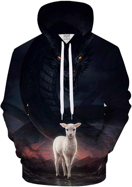 GUQIYA 3D Sweatshirts Neuheit Streetwear Lssige Trainingsanzüge