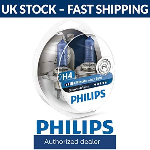 Diffusione Uniforme della Luce a 360/° Philips 127994000KX2 X-treme Vision LED T10 4000K CeraLight