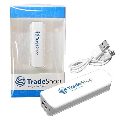 2200mAh Powerbank USB Port Externer Akku Reserve Battery Zusatz Batterie Power Bank Ladegerät Lader USB Universal-Adapter für HTC Desire 320 620 626 816 Dual Sim 826