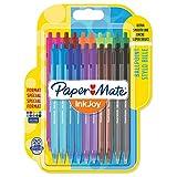 Paper Mate InkJoy 100RT Retractable Kugelschreiber | mittlere Spitze (1,0 mm) | gemischte Sonderfarben | 20 Stück