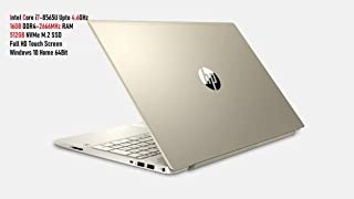 HP Pavilion 15-CS202 Laptop Core i7 8th Gen , 16GB , 512GB SSD , Win 10 , 15.6 FHD Touch