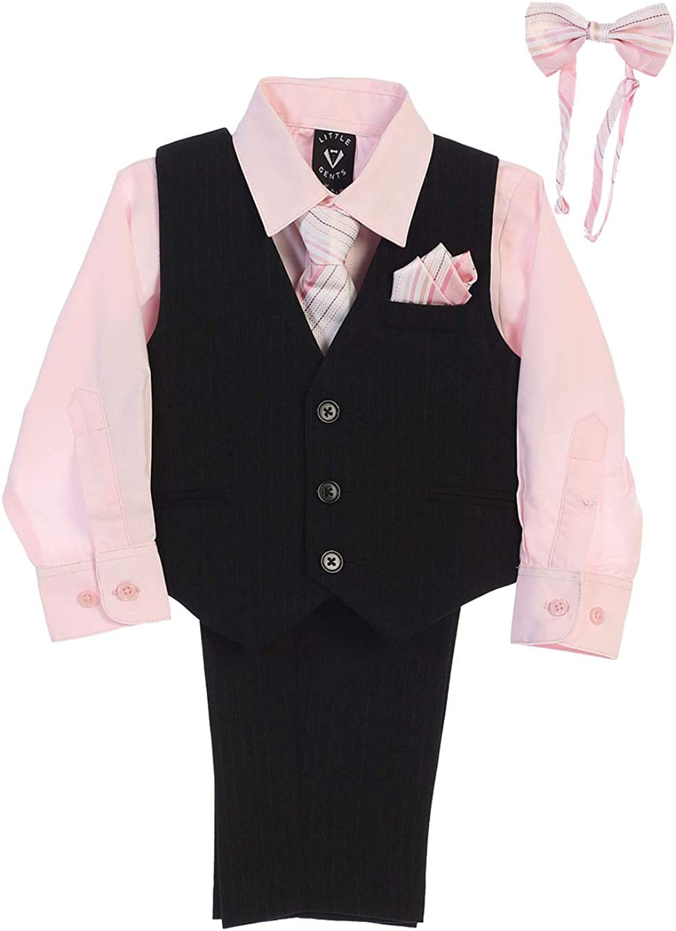 Little Gents Boys Easter Outfit, Boys Formal Dresswear Set, Ring Bearer Outfit for Boys, Church Clothes for Toddler Boy