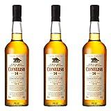 Clynelish 665631 - Juego de 3 Botes de Whisky (46%, 700 ml)