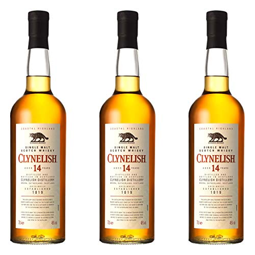Clynelish 14 Years/Jahre, 3er, Single Malt, Whisky, Scotch, Alkohol, Alokoholgetränk, Flasche, 46%, 700 ml, 665631