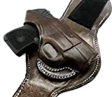 Best Leather Ankle Holsters - HOLSTERMART USA TAGUA Premium Dark Brown Leather Ankle Review