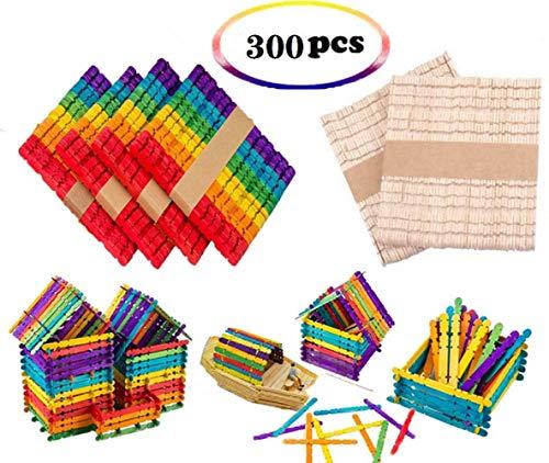120 unidades Palitos de piruleta de madera grandes varios colores