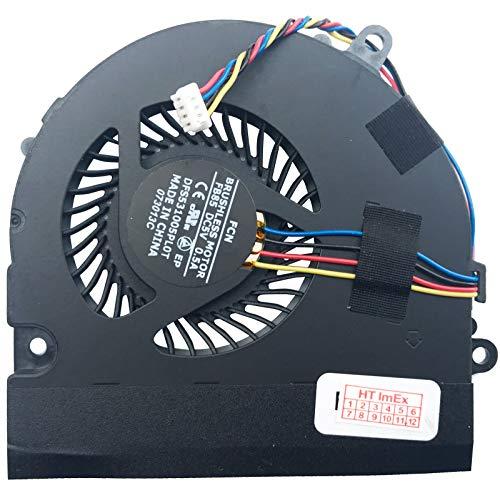 Lüfter Kühler Fan Cooler kompatibel für Medion Akoya P6815 (MD98294), Akoya P6815 (MD98296), Akoya P7621 (MD97887), Akoya P7621 (MD97889), Akoya P7621 (MD97923), Akoya P7621 (MD97929),