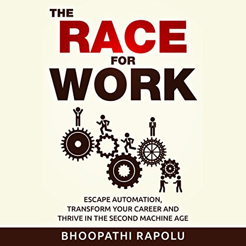 The Race for Work audiobook cover art
