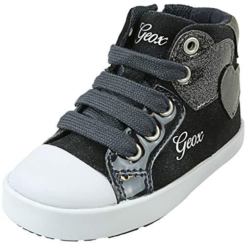 Geox Baby-Mädchen B Kilwi Girl C Sneaker, Blau (Navy C4002), 20 EU