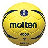 Molten IHF Match Ballon de Handball Cousu Main Jaune Jaune Size 3