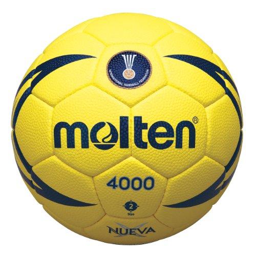 Molten IHF Match Handball, Herren, gelb/blau, Größe 3
