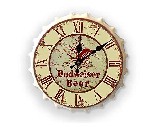Weird Or Wonderful Budweiser Bud Cream - Bebidas Happy Hour Cerveza Más Grande Vintage Retro Mancave Hombre Cueva cobertizo Garaje Taller Pub Bar Regalo
