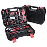 Beaspire WerkzeugSet Haushaltskoffer 144-teilig, Werkzeug für den täglichen Gebrauch, Werkzeugbox komplett mit Werkzeug, Ideal Werkzeugkasten für Haushaltsbereich, Universal-Haushalts-Werkzeugkoffer