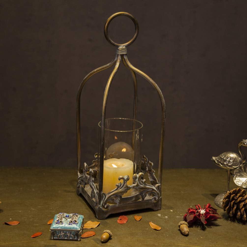 ledmomo Vintage Candle Ranking TOP2 Lantern Bron Ranking TOP11 Iron Holder Hanging