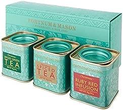 FORTNUM and MASON - Three Mini Christmas Tea Tins Set - 3 x 0.88oz / 25g - Loose Leaf