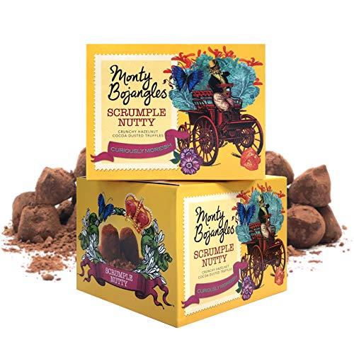 Monty Bojangles Scrumple Nussige, mit Kakao bestäubte Trüffel, 2 Geschenkboxen à 150 g
