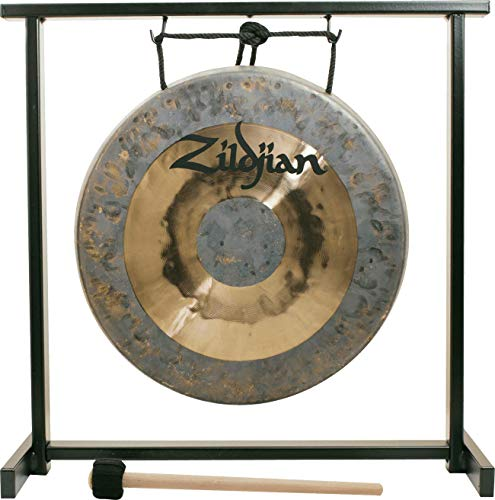 """2. Zildjian 12"""" Table-top Gong and Stand Set"""