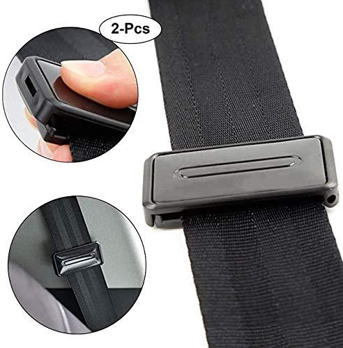 Extensor de cinturón de seguridad para automóvil Los asientos del coche reguladora del cinturón, clips de cinturón de seguridad inteligente Ajuste Cinturones de Seguridad for relajarse cuello del homb