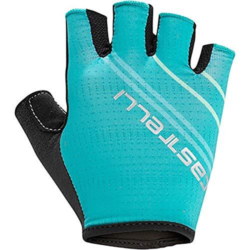 CASTELLI Dolcissima 2W Glove Guantes Ciclismo Mujer, Mujer, 4519060-963, malachite green, S