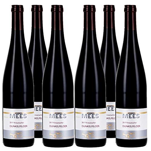 Weingut Mees DUNKELFELDER ROTWEIN TROCKEN 2017 Ortswein Deutschland Nahe (6 x 750 ml) 100% Dunkelfelder