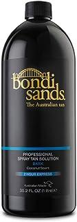Bondi Sands Professional Spray Tanning Solution Tan Mist 1 Litre Dark