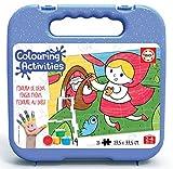 Educa - Colouring Activities: La Caperucita Roja Puzzle para Colorear, Multicolor (18210)