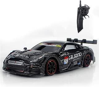RC Car for GTR/Lexus 4WD Drift Racing Car Championship 2.4G Off Road Rockstar Radio Remote Control Vehicle Electronic Hobby Toys,Black
