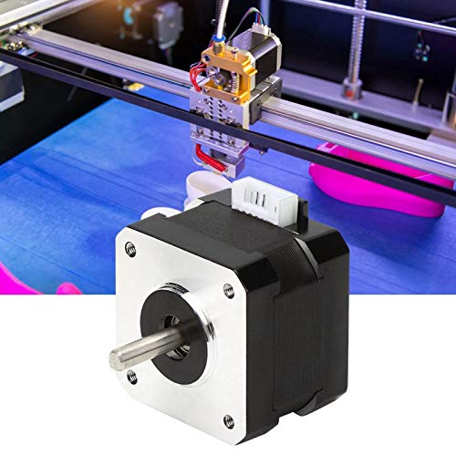 Large Torsion 2 Phase DC Stepper Motor Electronic Components 3D Printer Motor Rated Power 0.05KW for Cutting Machine for Polishing Machine(42-40)