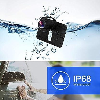 BOSCAM-K3-Rueckfahrkamera-und-Monitor-Set-Wired-Rueckfahrkamera-mit-Stabiler-Signaluebertragung-144-cm43-Zoll-Rear-View-Monitor-und-IP68-wasserdichte-Kamera-fuer-Auto-Bus-LKW-Schulbus-Anhaenger