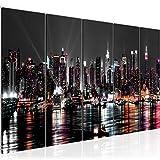 Runa Art Wandbild Wohnzimmer New York City 200 x 80 cm Bunt